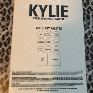 Kylie Cosmetics Makeup - Kylie Cosmetics Diary Palette